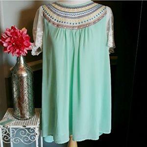 Boho Umgee Dress sz S
